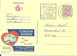 België Belgique Bree 1977 / Gruitrode Limburgse Witte / Publibel Condeva Serre Meigem - Ecrivains