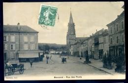 Cpa Du 54  Baccarat -- Rue Des Ponts    DEC15 01 - Baccarat