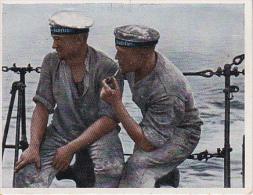 Sammelbild Unsere Reichsmarine - An Bord Eines Torpedobootes - Caid-Zigaretten (20718) - Other Brands
