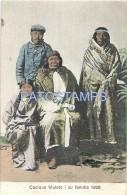 25315 CHILE ART COSTUMES NATIVE CACIQUE MULATO YEAR 1906 POSTAL POSTCARD - Chile