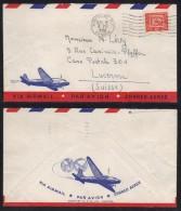 CANADA - MONTREAL / 1951 LETTRE AVION POUR LA SUISSE (ref 7116) - Storia Postale