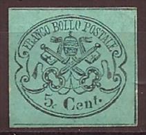 ETATS PONTIFICAUX   -  N° YT 14 Neuf Sans Gomme  -  COTE : 70,00 E. - Etats Pontificaux