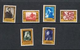 Belgium -  Cob 1076/81 - Paintings ** - Belgium