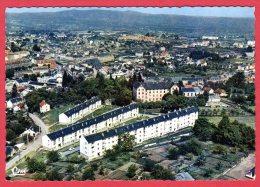 23 GUERET - Vue Panoramique Aérienne - Au Premier Plan, HLM Sagne-Moreau - Guéret