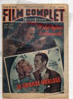 FILM COMPLET -CINEMA ROMAN-N°167-1949- IL PLEUT TOUJOURS LE DIMANCHE-LA GRANDE HORLMOGE- RAY MILLAND-CHARLES LAUGHTON- - Books, Magazines, Comics