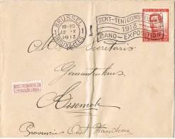 16074. Carta BRUSSEL (Belgien9 1913. Gand Exposition - Bélgica