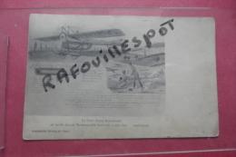 Cp Le Futur Avion Ambulance Au Profil Duquel Mademoiselle Marvingt - ....-1914: Précurseurs