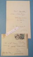 L.A.S 1904 Jules MASSENET Compositeur Au Peintre H. MOTTEZ Lettre Autographe LAS Musique Musicien French Compositor - Autogramme & Autographen
