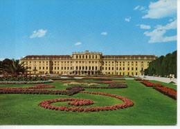 CP - PHOTO - WIEN - SCHOSS SCHONBRUNN - SCHLOSS MIT BLUMENPARTERRE  - 5142 - NACHDRUCK - Château De Schönbrunn