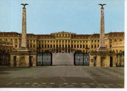 CP - PHOTO - WIEN - SCHLOSS SCHONBRUNN - HAUPTEINGANG  - 5146 - NACHDRUCK - Château De Schönbrunn