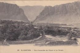 Algérie   :  El Kantara  - Vue D'ensemble  De L'Oasis Et Des Gorges - Other Cities
