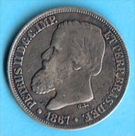 BRESIL - BRASIL 200 REIS , 1867 - Brésil