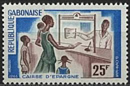 Gabon, N° 198** Y Et T - Gabon