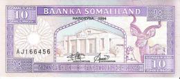 Somaliland - Pick 2 - 10 Shilin 1994 - Unc - Somalia