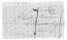 France Lettre LAC à Déchiffrer CAD Paris 5-05-1848 Pour Mr Thivel Michon Tarare - - 1801-1848: Précurseurs XIX