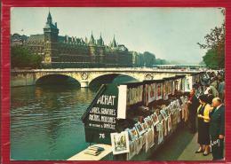 PARIS -  Les Bouquinistes -  Quai De Gesvres Et La Conciergerie - Petits Métiers à Paris