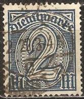 Allemagne - 1920 - YT Service 27 Oblitéré - Service