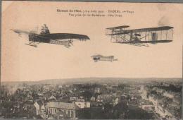 CPA Aviation  TROYES Vue Prise De Ste-Madeleine Cote Ouest - Circuit De L´Est 1910 - Troyes