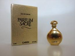 Parfum Sacré - Caron - Miniatures Modernes (à Partir De 1961)