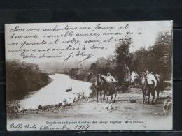 Argentina - Cazadores Indigenas A Orillas Del Arroyo Capibari - Alto Parana - 1907 - Argentine