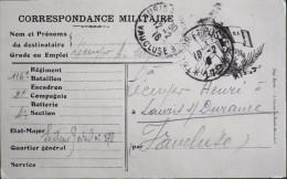 Carte Postale - Correspondance Militaire - Trésor Et Postes 179 - Le 10.02.1916 - Bon Etat - - Postmark Collection (Covers)