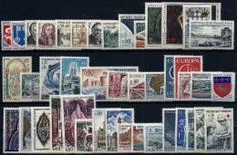 """FR Année Complète YT 1468 à 1510 """" 43 Timbres """" 1966 Neuf** - 1960-1969"""