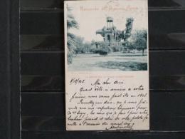 Recuerdo De Buenos Aires - La Gruta En La Plaza Constitucion - 1902 - Argentine