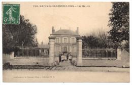 SAINS MORAINVILLERS - 60 - Oise - La Mairie - France