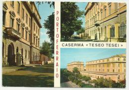 PORTOFERRAIO CASERMA TESEO TESEI  VIAGGIATA FG - Livorno