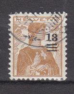 1915  N° 133 OBLITERE   CATALOGUE  ZUMSTEIN - Zwitserland