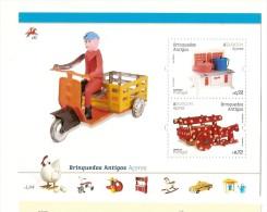 Portugal ** & CEPT Europe Azores , Antique Toys 2015 (6) - Blocks & Sheetlets