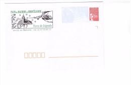 Lettre PAP Pret A Poster Marianne De Luquet Neuf Pays De Mauron En Brocéliande Merlin Enchanteur N° 908 Lot 508 181 - Entiers Postaux