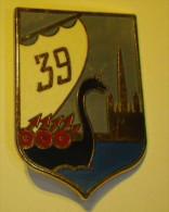 39 Et 57e Regiment D´Infanterie (3 Insignes) - Hueste