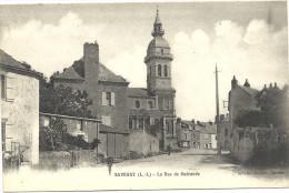 44 SAVENAY      LA  RUE  DE  GUERANDE - Savenay