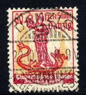 DANZIG 1921 Tuberculosis Week 60 Pf., Postally Used, Expertised. - Danzig