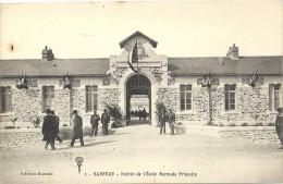 44 SAVENAY      L  ENTREE   DE   L  ECOLE  NORMALE   PRIMAIRE - Savenay