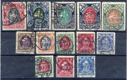 DANZIG 1921 Proclamation (Kogge) Set Postally Used, Expertised - Danzig