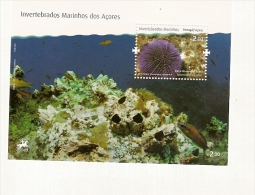 Portugal **  & Marine Invertebrates Of The Azores, Hedgehog Spines Short 2010 - 1910-... Republic