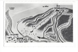 La Cure Monte Pente Des Tuffes Frontière Franco Suisse - VD Vaud