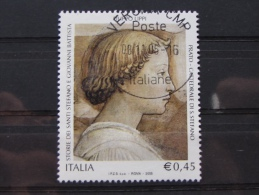 ITALIA USATI 2005 - FILIPPO LIPPI STORIE SANTI STEFANO E GIOVANNI PRATO - SASSONE 2850 - RIF. G 2007 LUSSO - 6. 1946-.. Repubblica
