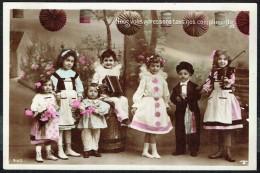 Groupe D'enfants  - Circulé Sous Enveloppe - Circulated Under Cover - Gelaufen Unter Umschlag. - Groupes D'enfants & Familles