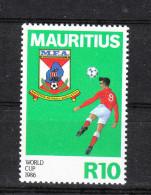 "Mauritius   -   1986. Mondiale "" Mexico '86 "".  MNH - World Cup"