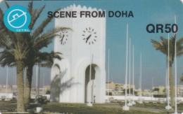 Qatar, QTR-30, Scene From Doha, 2 Scans. - Qatar