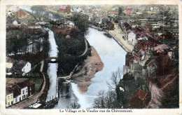 Le Village Et La Vesdre Vus De Chèvremont - Gel., 2 Marken - Chaudfontaine