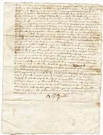 Montauban,1724, Labastide Marnhac,, Boisse-Penchot,  Cachets, Généralité Montauban,Tulle,laboureur - Manuscripts