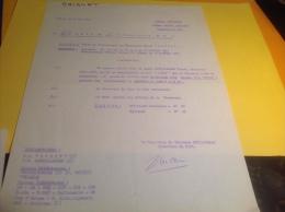 Ordre De Circonstance Marine National Toulon Port Capitaine De Vaisseau - Documents