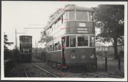 RK1174 Leeds City Tram 268 28/8/49 - Trains