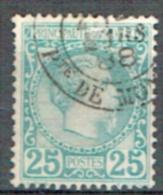 Monako 1885 Prinz Charles III. Yvert N° 6 Gestempelt - Monaco