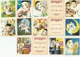 Vignettes De La Collection Pierrot  N° 22 24 43 44 51 57 70 74 81 130 145 152 168 169 - Autres