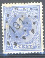 _5y-717: N° 19: Ps: 191: SHEEMDA - Periode 1852-1890 (Willem III)